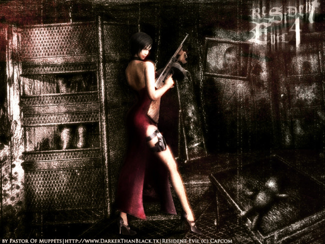 Resident evil 4 управление мышью 1.